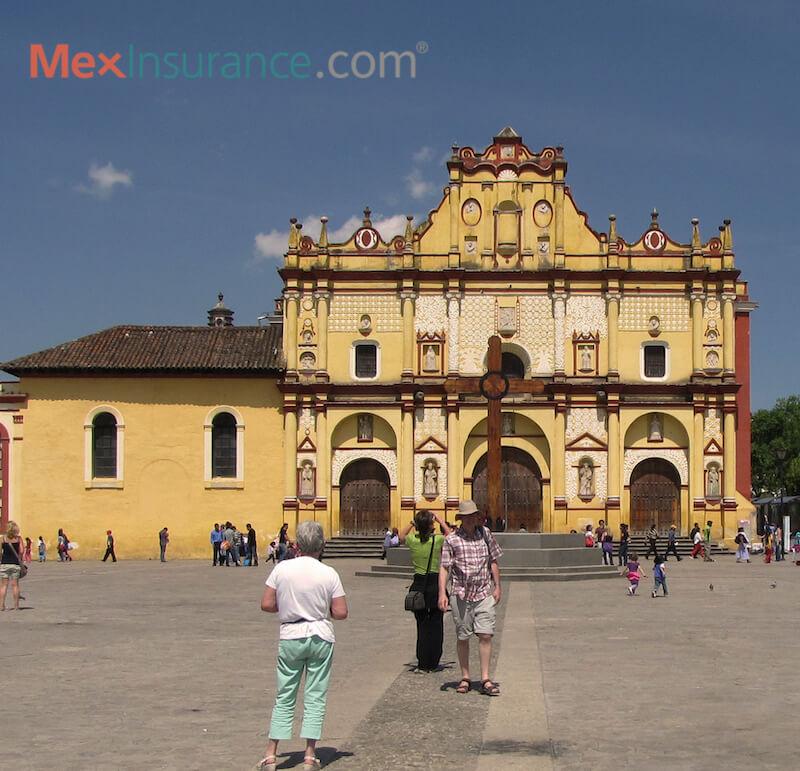 Catedral de San Cristobal, Chiapas - photo by WIlliam Kaliher