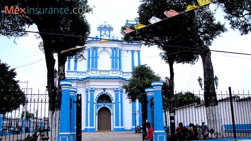Templo de Santa Lucia, Chiapas, photo by William Kaliher