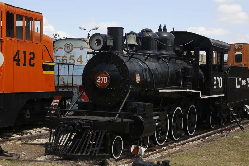 The Train Museum in Yucatan