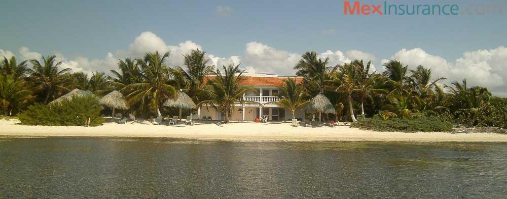 Beach Near Xcalac near Calderitas Yucatan Mexico