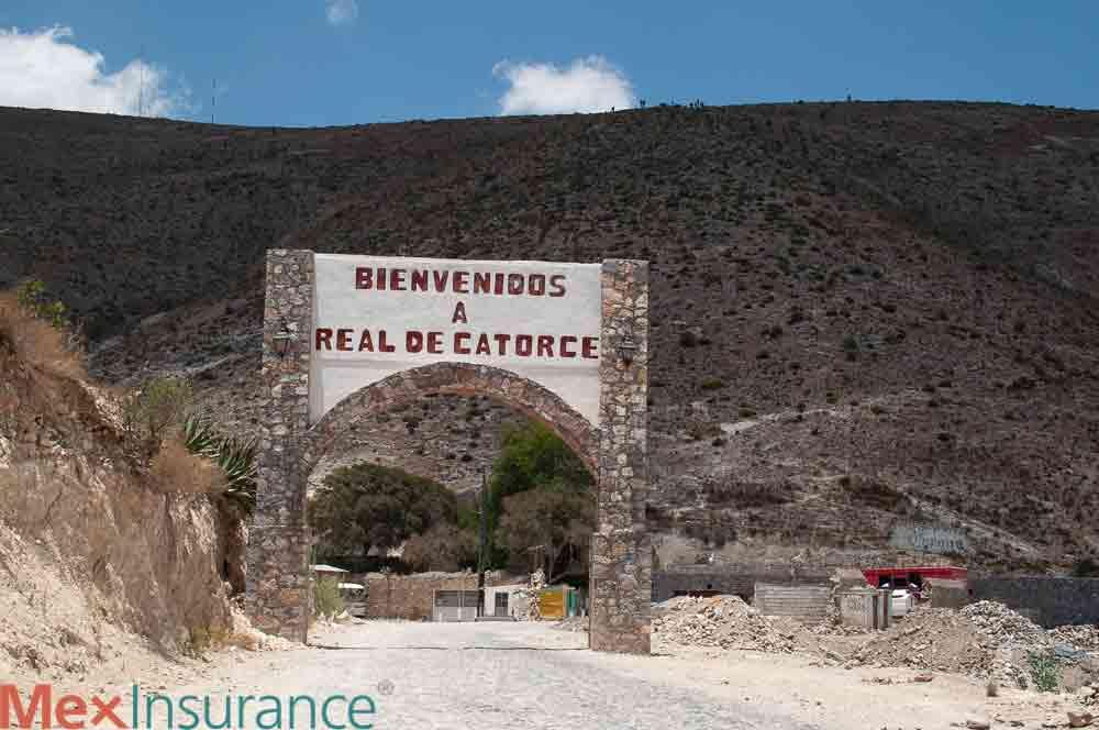 Real de Catorce Welcome Sign