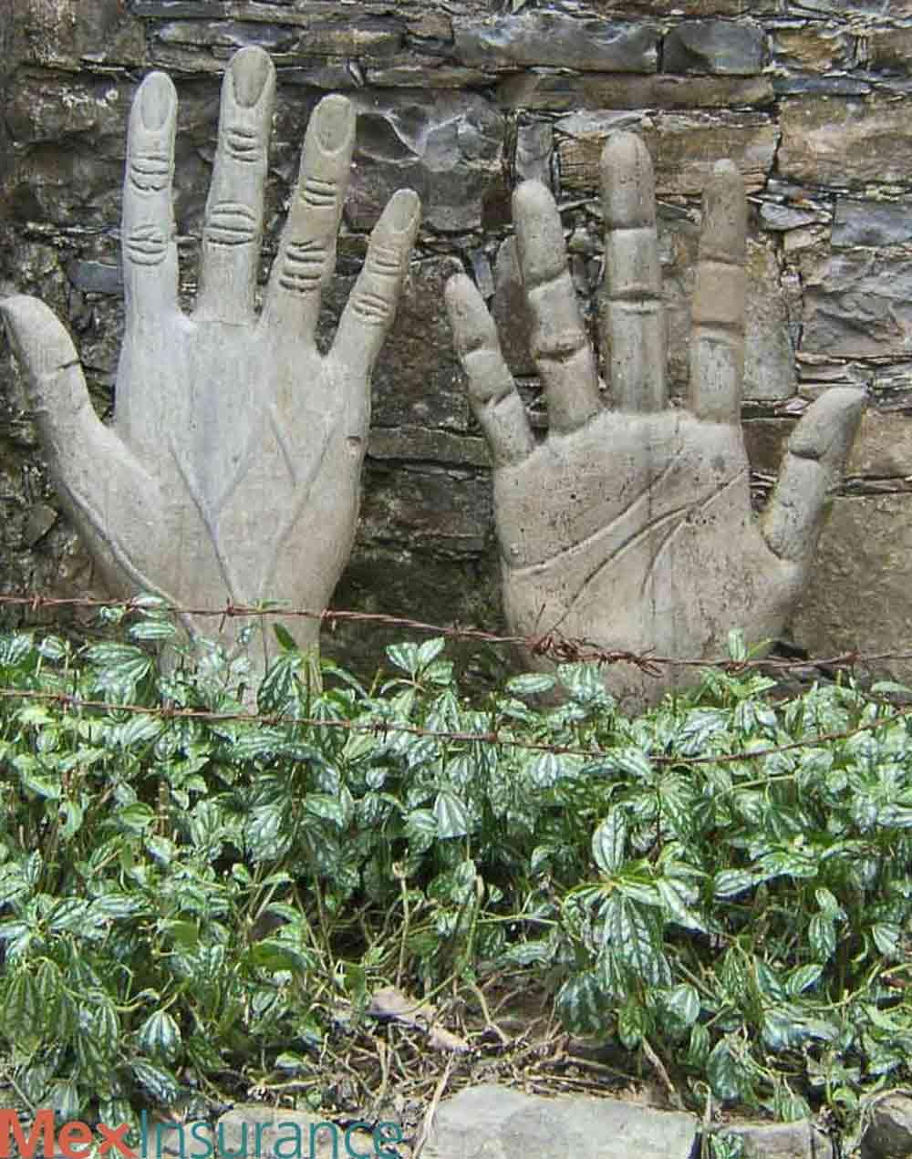 Hands Sculpture in Xilitla