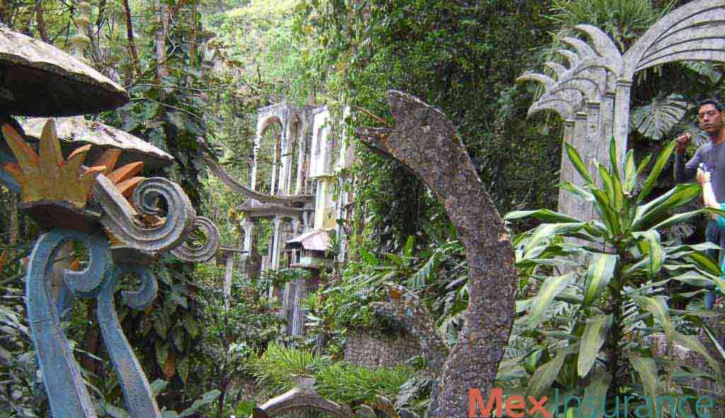 Xilitla Sculpture and Waterfalls