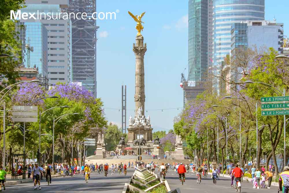 Mexico City Angel of Independence
