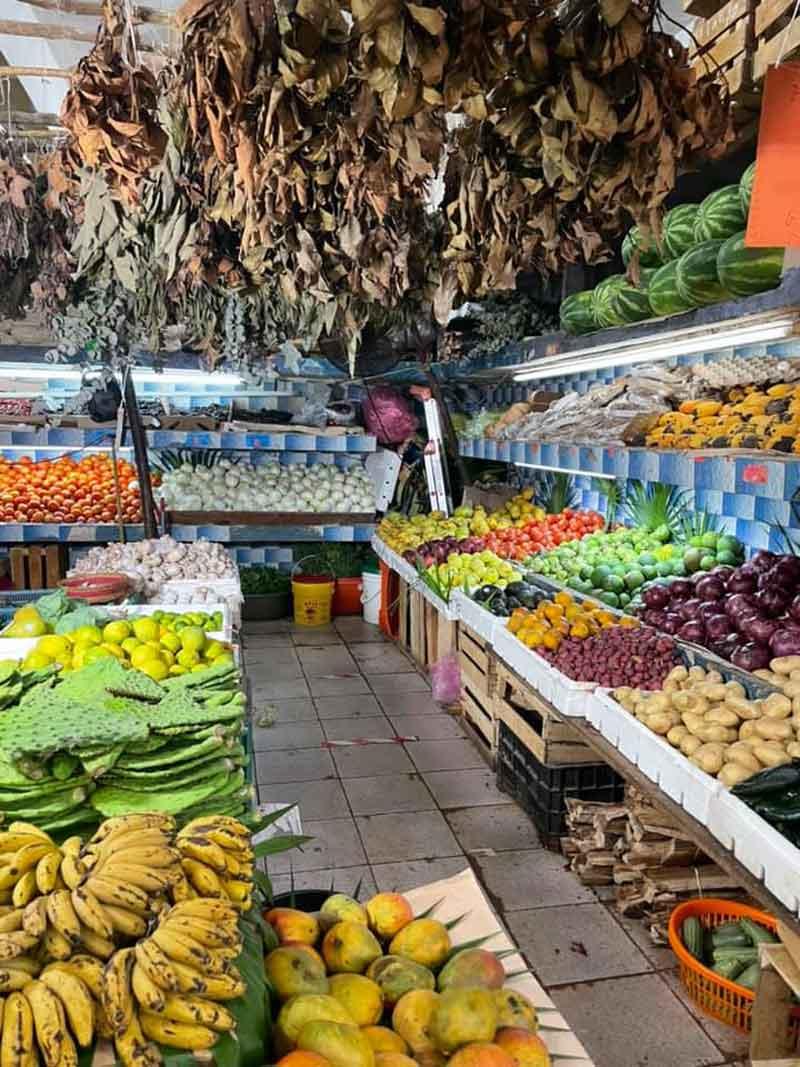 Cancun-food market