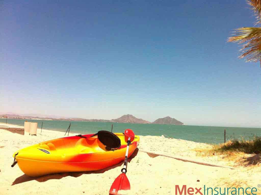 Kayak in San Felipe