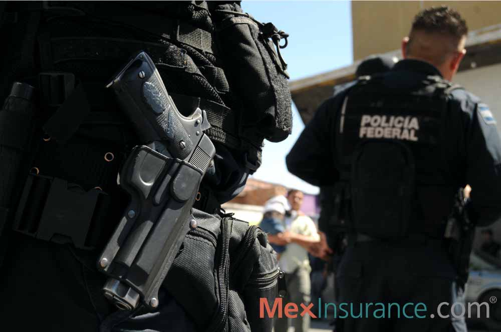 Mexican Federal Checkpoint