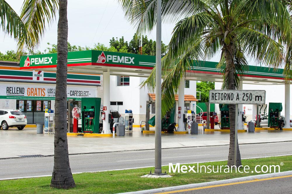 Pemex gasoline station