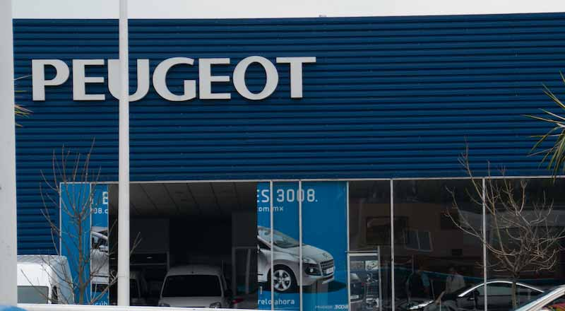 Puegeot Dealership in Mexico