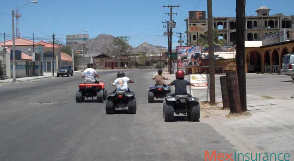 Fathers and Sons on Quads in San Felipe Baja California