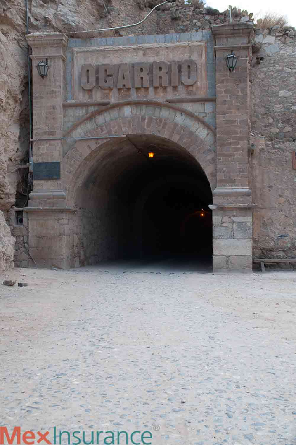 Tunnel Entrance at Real de Catorce