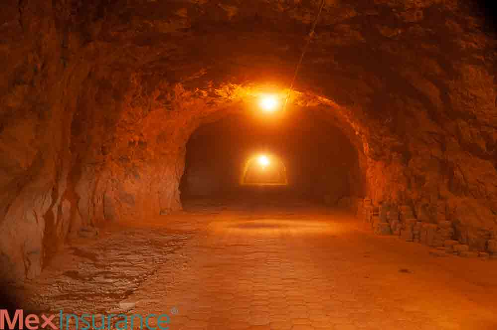 Tunnel at Real de Catorce