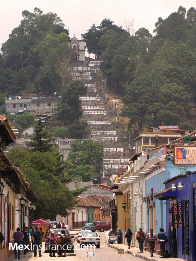 Templo de San Cristobal - climb 240 steps up, photo by William Kaliher